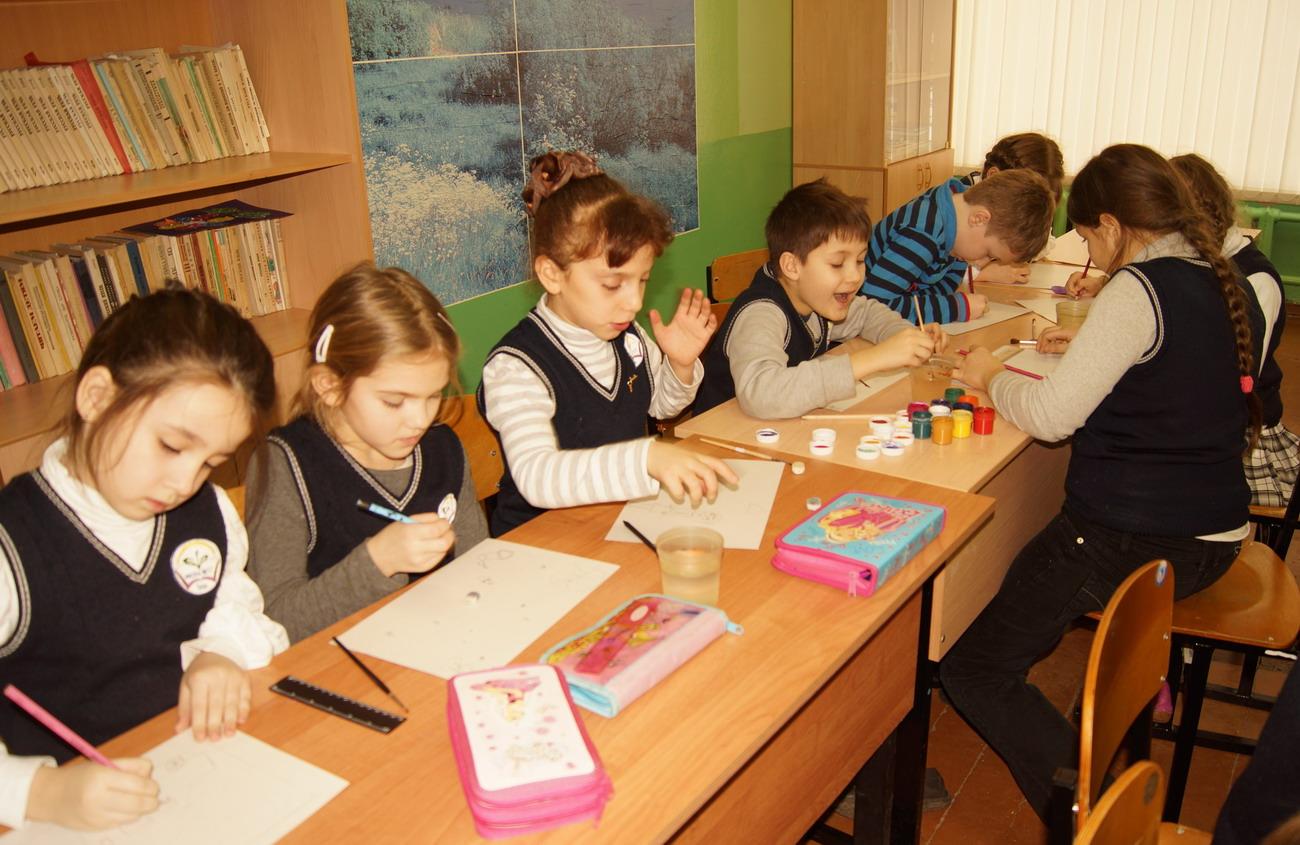 отчет о конкурсе рисунков моя школа