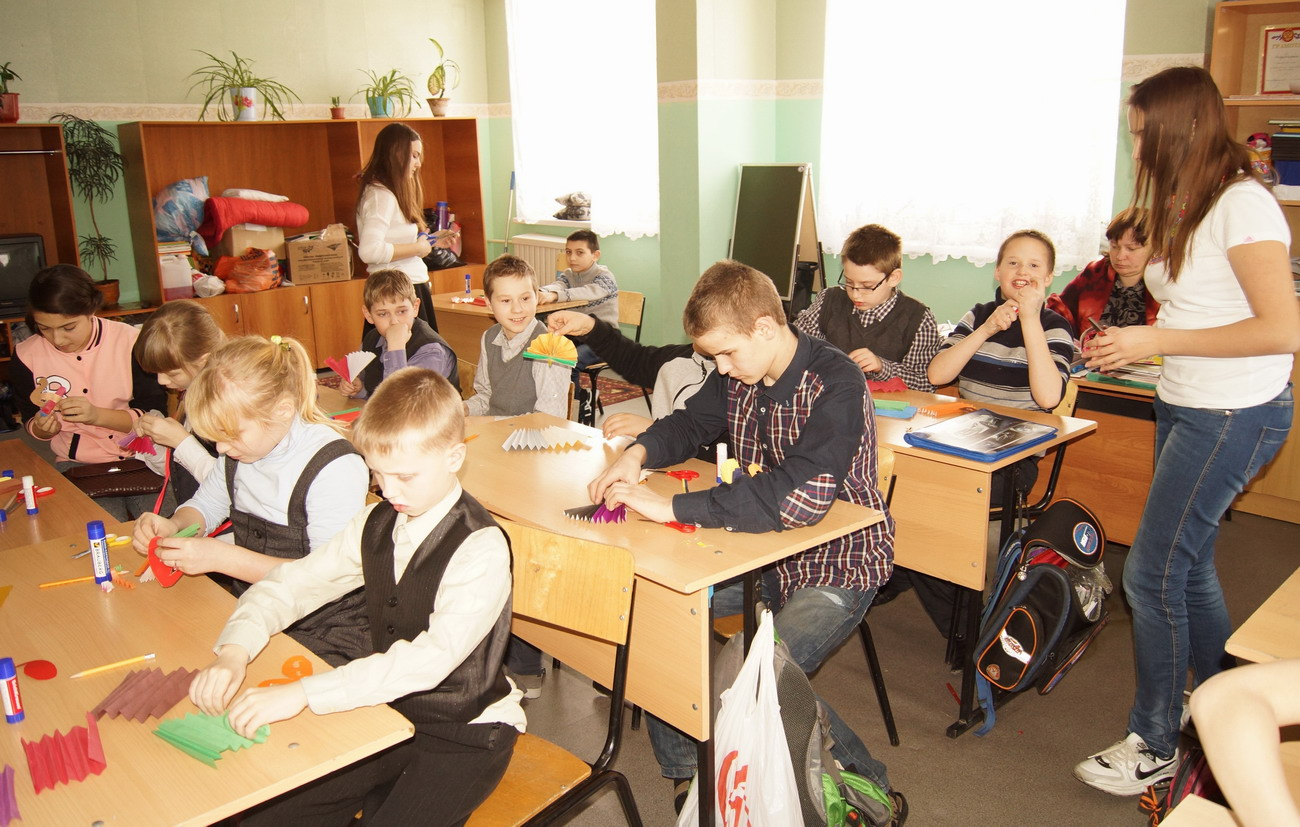 Школе мастер класс  #11
